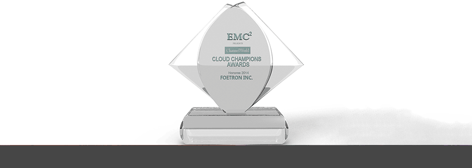 Foetron Inc. bags the coveted cloud champions award by- IDG and Channel World
