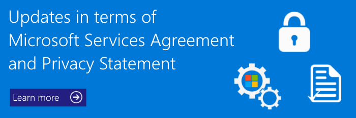 Microsoft Updates Its Terms Of Use And Privacy Statement Foetron